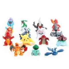 15PCS Excellent Anime Style Pokemon Random Pearl Action Figure Toy