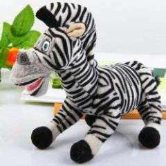 Very Verisimilitude Toy HHorse for Kids As Gift Or Decoration (Grey and Black)