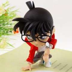 New Arrival Detective Conan Squatting on the Ground Modelling PVC Figure Doll