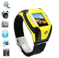 Wholesale Sport Wrist Watch Cell Phone F3 with MP3 MP4 FM Camera