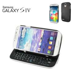 Sliding & Standing Detachable Bluetooth Keyboard Case For Galaxy S4