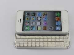 Ultra Thin Bluetooth Keyboard Case For IPhone 5(KRMSK01A)