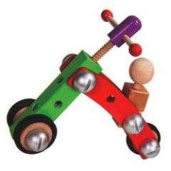 Hot Sale Educational Wooden Toy Intelligence Creative Dismounting Vehicle for Baby