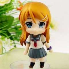 Cartoon PVC Figure Nendoroid Series Kirino Kousaka Replaceable Face Doll