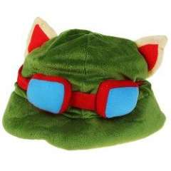 Cosplay Props or Gift League of Legends Hat - Green
