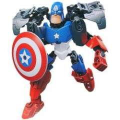 Educational Toy NO.6006 Super Heroes American Captain DIY Model of New Design