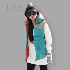 2013 autumn and winter female cotton vest fashion vest thickening plus size women's coat vest Free Shipping