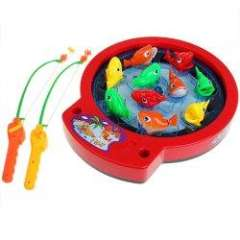 NO.805 Elegant Bassing Beat Fishing Set Toy for Kids - Colorful