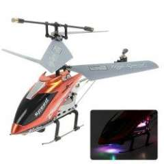NO.M301 Remote Control 3.5 Channels Gyro Helicopter\Airplane Model Toy with Light - Orange