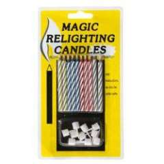 Charming Party Magic Set - Magic Relighting Candles