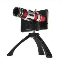 18x degree optical zoom Telescope lens camera for iPhone6, with tripod \ case