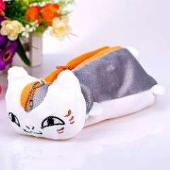 Fashion Plush Cool Natsume's Book of Friends Squint Cat Pen Bag