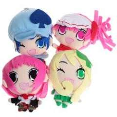 Fashion Shugo Chara Q Version Dolls\Decorations with Suck of 4PCS