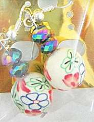 Bohemian beads earrings Series No.17