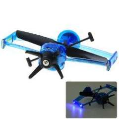 NO.5028 Fly Indoor RC Induction Infrared Ray Control Helicopter\Aircraft - Blue