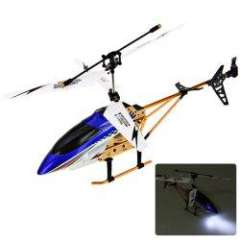 NO.DM144B 2.5 Channel Infrared Control Helicopter Model for Kids (Blue)