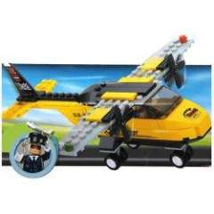 NO.M38-B0360 Plastic Building Blocks Training Plane Educational Funny Toy for Children