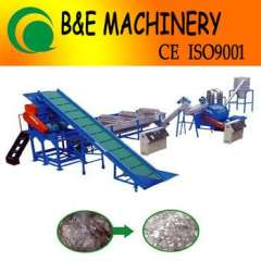 full automatic pp pe film recycling machine