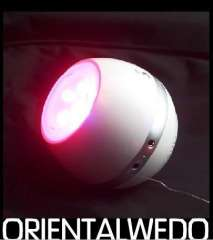 Rechargeable LED Light Living Colors with FM Radio and Speaker