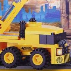 NO.80615 Plastic Building Blocks MC-01 Concrete Pump Truck Educational Funny Toy for Children