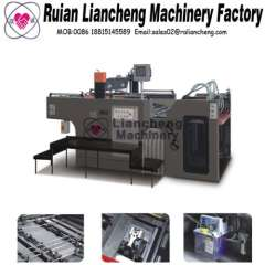 automatic screen printing machine and fully automatic screen printing machine