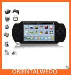 UnisCom V-S515 4.3' 4GB MP3\MP4\MP5 Media Game Player(TV-Out, FM Radio, PC Camera, TF Card Supported)