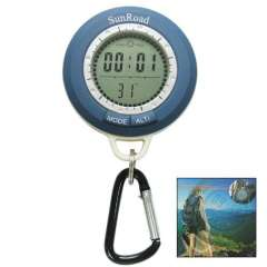 8in1 Multifunction Mini Digital Altimeter with 1.1 Inch LCD Screen