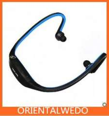 Headset Handsfree MP3 Player 2GB Blue