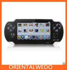 UnisCom V-S511 4.3 Inch 4GB HD Digital MP5 Game Player with Camera, FM, TF Card Supported