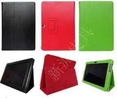 (Factory direct supply) Samsung Tablet P5100 | bracket P two leather protective sleeve | Litchi 12 color