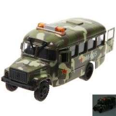 NO.ET1053 Military Vehicle\Car with Light and Sound for Children - Army Green