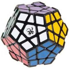 Stylish DaYan Megaminx Magic Cube with Ridge for Children\Adult - Black
