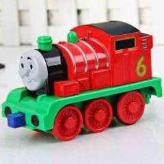Interesting Plastic Electronic Rose Train Car Toy for Kids