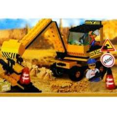 NO.M38-B9600 Plastic Building Blocks Excavating Machine Educational Funny Toy for Children