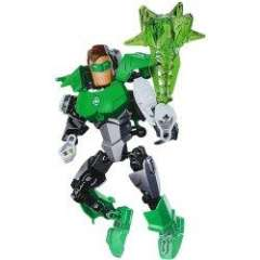 Educational Toy NO.6002 Super Heroes Green Light Man DIY Model of New Design