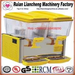 made in china 110\220V 50\60Hz spray or stirring European or American plug used juice dispenser machine