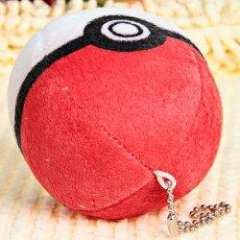 Fashion Plush Cute Pokemon Ball Dolls\Decorations (Red and White)