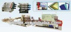 PP\PE\ABS\PMMA\PC\PS\HIPS Plastic Plate (Sheet) Extrusion Line PP\PS\HIPS\PVC sheet production line sheet making machine