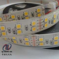 IP68 White PCB Waterproof 5050 Double 120LEDs Flexible LED Strip