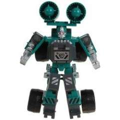 Prime Transform Robots in Disguise Action Figure with Rocket - Blue Green
