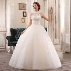 Quality halter-neck wedding dress bride new arrival 2013 princess sweet paillette strap wedding dress Free Shipping