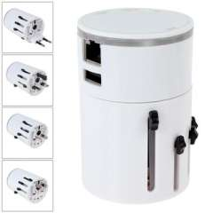 USB Port 3A \ Universal Conversion Plug Socket \ Travel Charger with WIFI