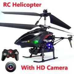 New Arrival 3.5 CH Radio remote Control Metal Gyro RC Helicopter With Camera Remote Control toys WL S977 helicoptero controle