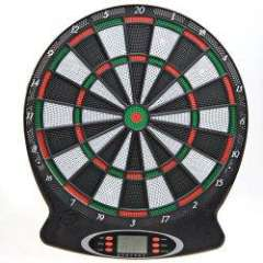 Amazing WJ100 LCD Screen Electronic Dartboard with 6 PCS Darts for Players