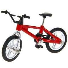 Finger Toy Bike of New Style for Children - Red and Black