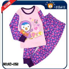 Girl Cute Clothes Set # XC-058 \ Baby Cotton Pajamas \ Best Gift For Kids \ Free Shipping