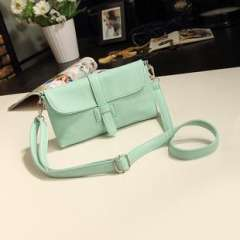 Handbags wholesale | 2013 Korean version of the new candy-colored minimalist H buckle shoulder bag diagonal | vintage fluorescent color packet