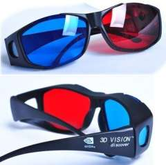 Wholesale Red Blue Cyan 3D glasses