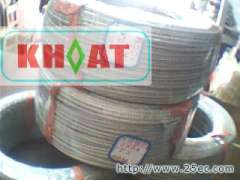 Type K | E-type | heat temperature stainless steel braided wire, thermocouple wire