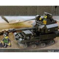 NO.M38-B0282 Plastic Building Blocks T90 Tank Educational Funny Toy for Children